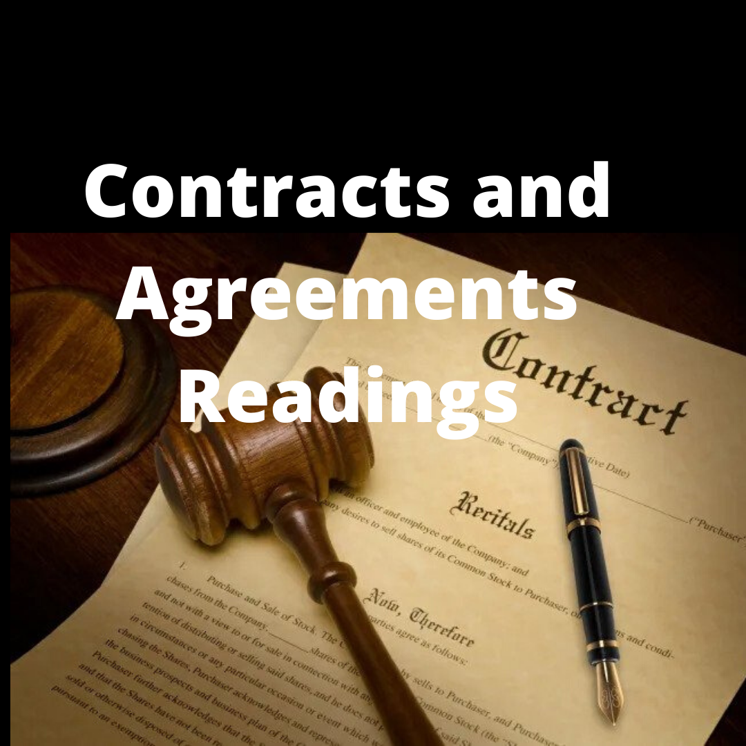 contract reading