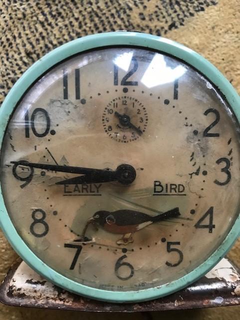 moving forward clock